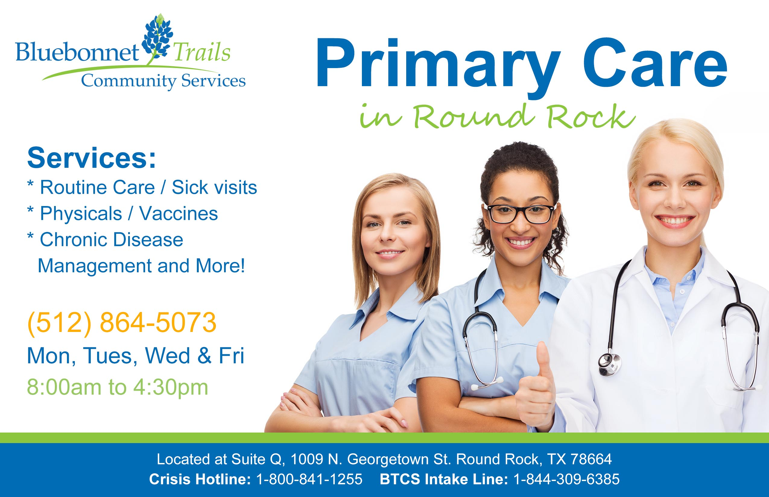 Family Health Care | Bluebonnet Trails Community Services