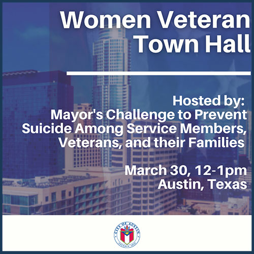 Women Veteran Town Hall