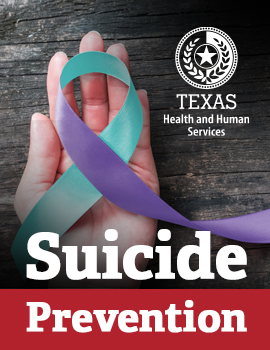 HHSC Suicide Prevention Webpage